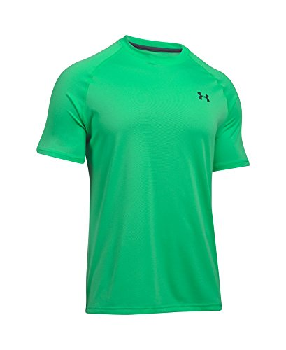 Under Armour Men's Tech Short Sleeve T-Shirt, Vapor Green /Stealth Gray, Small by Under Armour (Image #3)