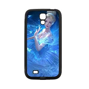 Personalized Fantastic Skin Durable Rubber Material Samsung Galaxy s4 I9500 Case - Cinderella