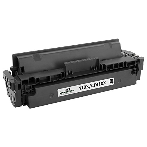 Speedy Inks - Compatible Replacement for HP 410X CF410X High Yield Black Toner Cartridge for use in HP Color LaserJet Pro MFP M477fdn, M477fdw, MFP M477fnw, M452dn, M452dw, M452nw
