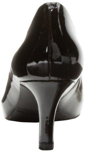 Rockport Womens Seven to 7 Pump Black Patent