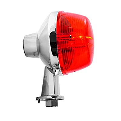 Grand General 33134 1-1/8 Inch Clear Arm Red Honda Light: Automotive