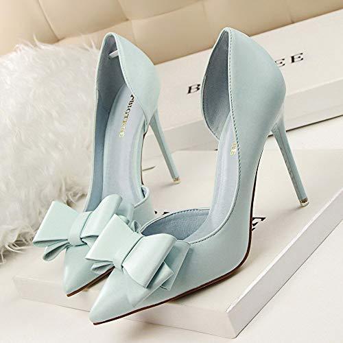 Size Cielo Sottili Scarpa Estremamente asia Con Blu Sexy C Scarpe Donna Da Beikoard Tacchi Alti wpq5OaP