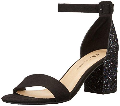 CL by Chinese Laundry Women's Jody Dress Sandal, Black/Multi Glitter, 8 M US