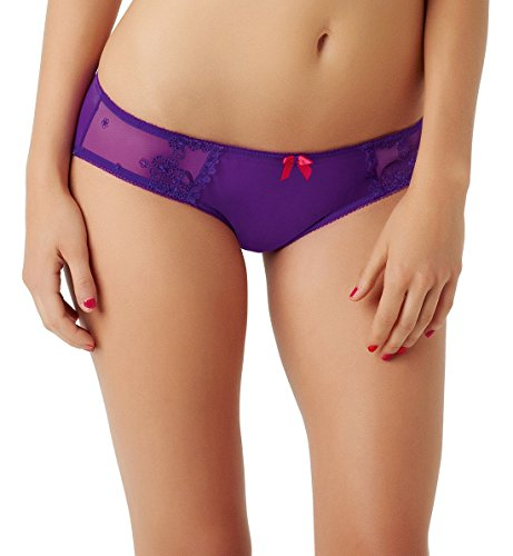 Cleo by Panache Women's Lucy Brief Panty, Purple, ((14) Large ()