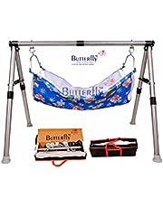 REVA INTERNATIONAL Indian Style Ghodiyu Two Feet Sleep Swing Baby Cradle Fabric Cloth Free