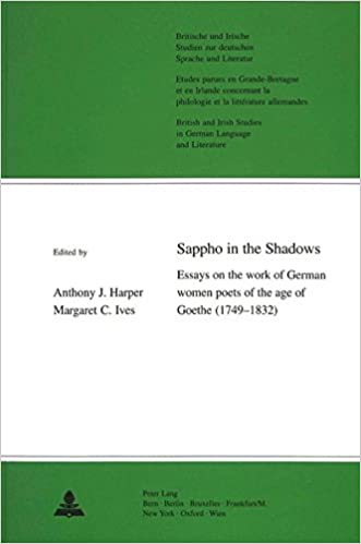 Essay Topics For High School English Sappho In The Shadows Essays On The Work Of German Women Poets Of The Age  Of Goethe  With Translations Of Their Poetry Into English  Essay Writing For High School Students also Essay Examples For High School Amazoncom Sappho In The Shadows Essays On The Work Of German  Public Health Essays