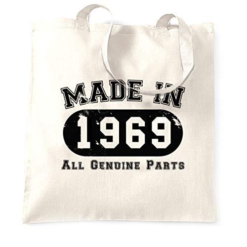 50e Les Main 1969 En Pièces Sac À Fabriqué D'origine White Toutes Anniversaire 8q4r8SnT