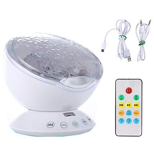 Control remoto del bebé del proyector ligero construido en ...