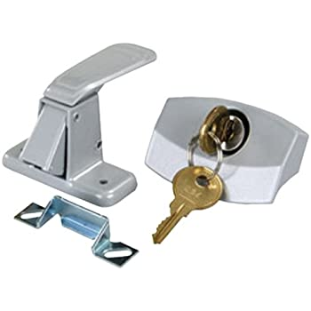 JR Products 10805 C&er Door Latch  sc 1 st  Amazon.com & Amazon.com: RV Designer E311 Camper Trailer RV Door Latch with Lock ...