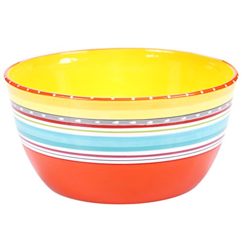 (Certified International 25643 Mariachi Deep Bowl, 10.75