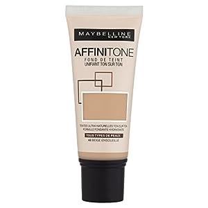 Gemey-Maybelline - Affinitone - Fond de teint liquide - 48 beige ensoleillé