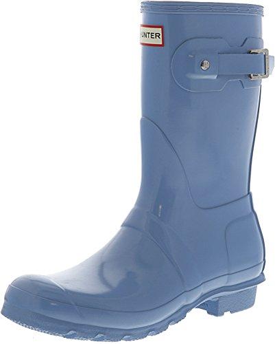 Hunter Women's Original Short Gloss Pale Blue Rain Boots - 8 B(M) US