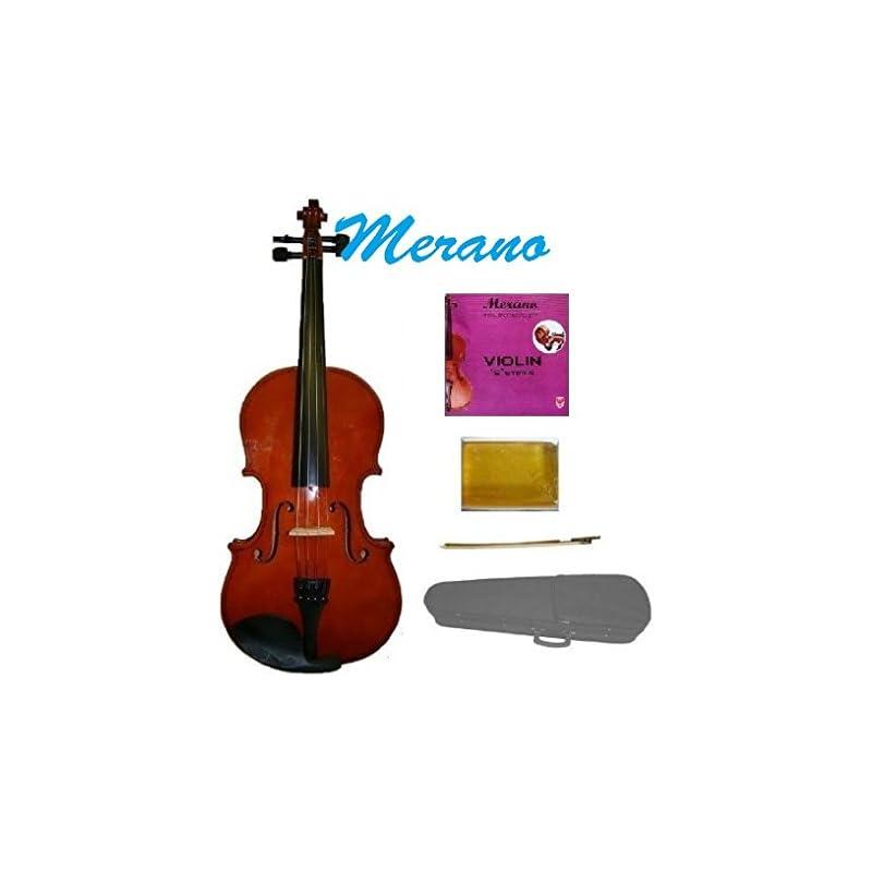 GRACE 1/2 Size Natural Acoustic Violin w