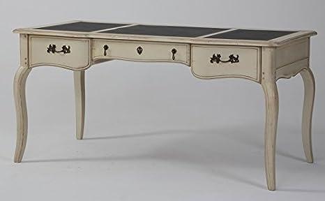 Scrivania Vintage Legno : Scrivania vintage betulla massiccio legno shabby chic mobili per
