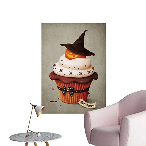 Wall Decorative Halloween Cake,Holiday Greeting Card. Pictures Wall Art Painting,16