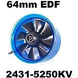 Mystery EDF Plus HL6408 2431-5250KV Brushless Motor 64mm EDF Ducted Fan Power System