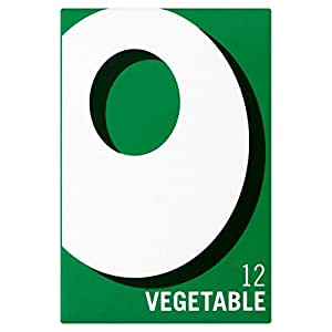 OXO 12 Vegetable Stock Cubes, Total Weight 71g