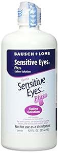 Bausch & Lomb  Sensitive Eyes Plus, 12 Fl oz, Twin Pack