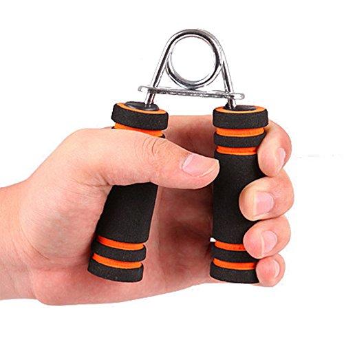 YOUDirect(TM) Foam Sponge Hand Grip Finger Strength Hand Exercise Forearm Strength Builder (Orange)