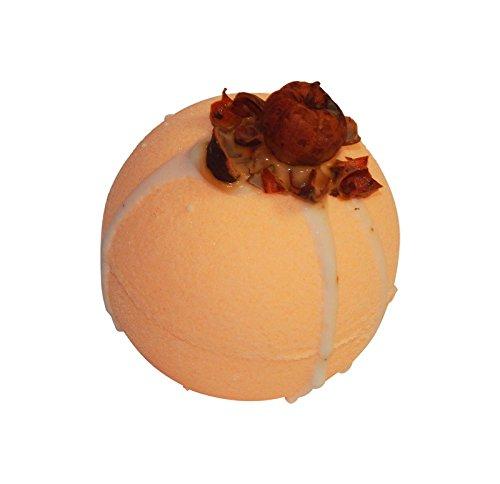 Pumpkin Crunch Scented Bath Bomb, 3 ounces, Diva Stuff