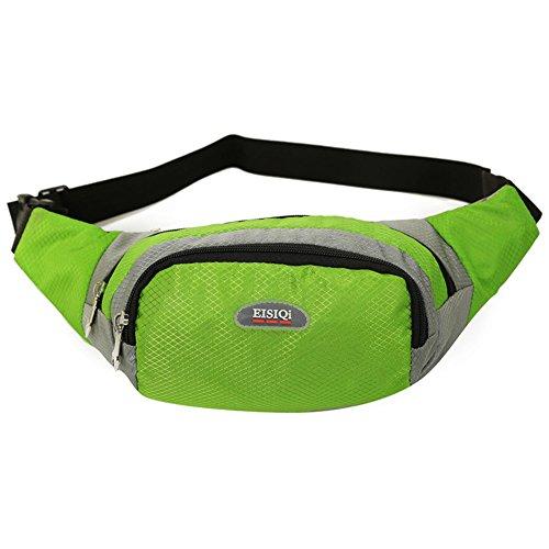 bolsillos de los hombres/Ocio y tiempo libre Deportes montar paquete de pecho/Ejecución del paquete de telefonía/bolso de hombro de múltiples funciones-I A