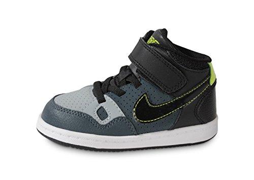 Nike - Son OF Force Mid TD - 615162013 - Couleur: Bleu-Noir - Pointure: 23.5