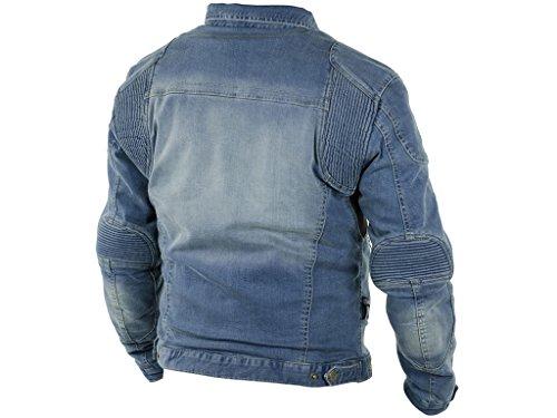 Aramid Forcefield Größe 3096104 L Herren Trilobite Jacke Parado Schutz Protektoren Jeans Motorrad BqAAp1