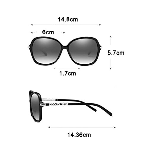 soleil Lunettes polarisées UVB UVA de Visage Tea lunettes Eye petites soleil visage lunettes Long Anti WLHW de UV Round tdCEnqgwwW