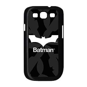 Samsung Galaxy S3 9300 Cell Phone Case Black Batman Logo Black & White SU4571999