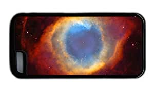 Hipster custom iPhone 5C cases helix nebula space TPU Black for Apple iPhone 5C