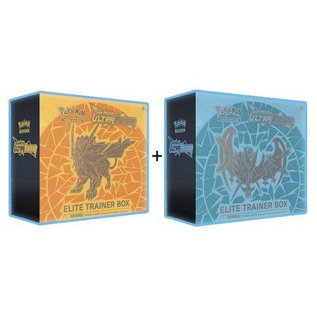 Pokemon TCG: Ultra Prism Ultimate Collectors Bundle Combo (Both Elite Trainer Boxes, Booster Boxes, Both Decks, 4x Blister Packs)