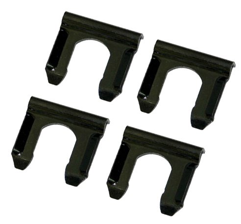 64-79 Disc Drum Rubber Brake Line Flex Hose Retainer Bracket U Clip Clips 4 pc (D-8-11)