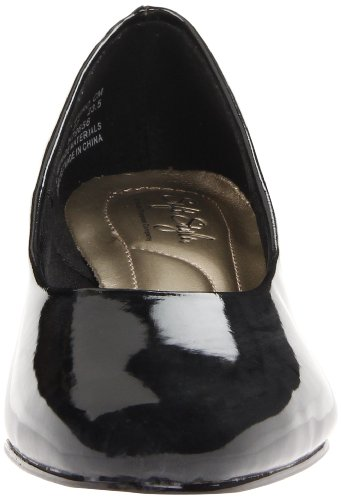 Soft Style by Hush Puppies Angel II Larga Scarpe tacchi Taglia, Black Patent, 8 US |6 UK |39 EU
