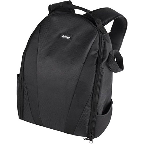 Pro Deluxe Vivitar Backpack Case Camera Bag For Canon EOS Rebel T7i SL2 77D -vivitar