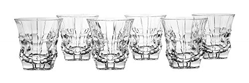 (Bohemia Jihlava 8591581029686 Whiskey Cascade Non Lead Dof Glass, Crystal,)