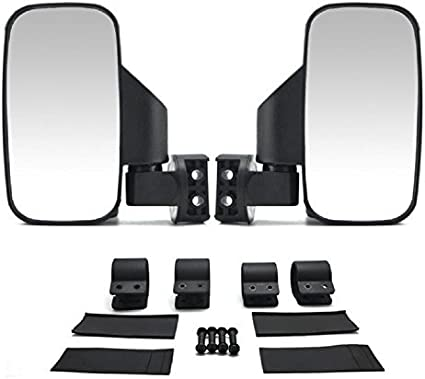 "Polaris Ranger RZR 800 UTV Side Mirror Set HD 1.75/"" Left /& Right Fold Away NEW"