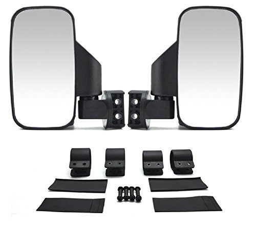 2009 Polaris Ranger Accessories - UTV Side Rear View High-Definition Convex Mirrors: Polaris Ranger Accessory Great Side by Side Mirror for RZR XP1000 900 800 Ranger (1.75