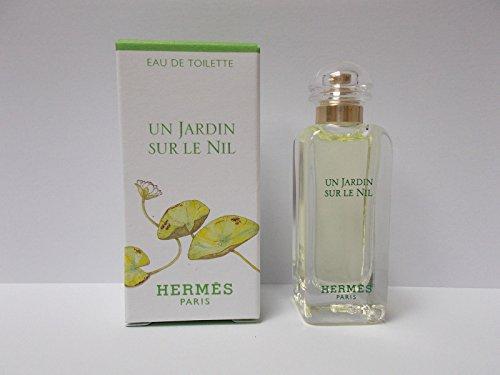 Hermes Un Jardin sur le Nil eau de toilette 7.5 ml / 0.25 oz EDT Splash Mini (7.5 Ml Edt Splash)