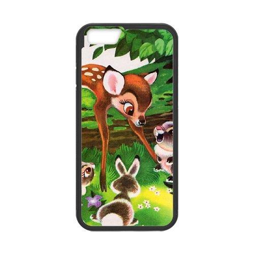 Bambi coque iPhone 6 4.7 Inch Housse téléphone Noir de couverture de cas coque EBDOBCKCO10411