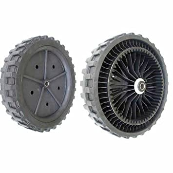 Rueda para cortacésped asmotor - Ø: Ext: 270 mm, orificio ...
