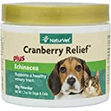 Urinary Health Supplement Powder for Dogs and Cats, Healthy Bladder & Urinary Tract Support with Cranberry & Echinacea, Made by NaturVet