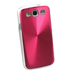 Red Deluxe Shiny CD Laser Hard Case Cover For Samsung Galaxy SIII S3 I9300
