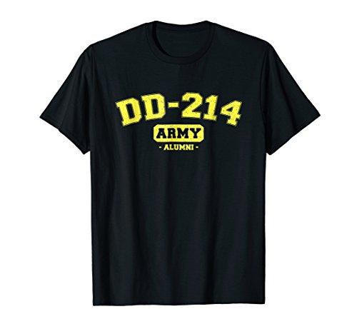 DD-214 US Army Alumni Vintage T-Shirt
