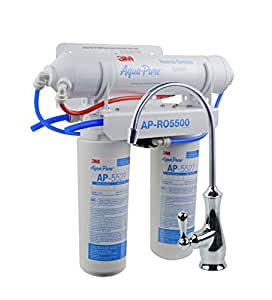 3M Aqua-Pure Under Sink  Reverse Osmosis Filtration System - Model APRO5500