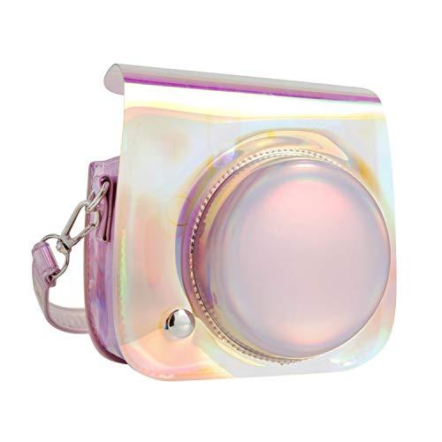 QUEEN3C Mini 9 Camera Case Bag for Fujifilm Instax Mini 9 Mini 8 Mini 8+ Instant Camera. (Aurora Bright)