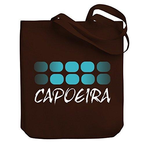 Teeburon 5 X 2 Capoeira Canvas Tote Bag