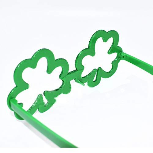 Trébol Fiesta Clover Mymyguoe Patricio Green Día Funny De Adult Irish F Festival Irlandés Verde Gafas San RRwq17AOn