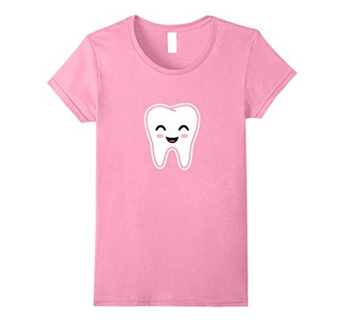Womens Tooth Fairy Halloween Costume T-Shirt Medium Pink (Toddler Tooth Fairy Costume)