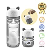 Portable Bottle Sterilizer Smart Baby Bottle Sterilizer with One Turn Operation and Compact Design Ideal for Travel