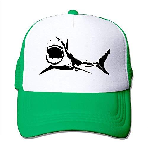 Tone Hat Two Cap Trucker Silhouette Gorras Adjustable zengjiansm Mesh Shark béisbol qZ7fFRxa